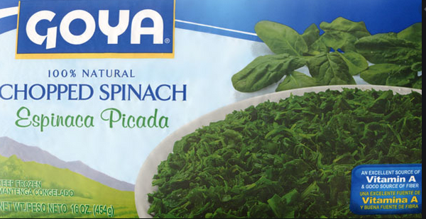 Goya Chopped Spinach