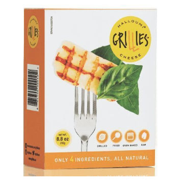 Grillies Halloumi Cheese Standard Pack - 8.8 Ounces