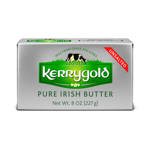 Kerrygold Butter, Pure Irish, Unsalted - 8 Ounces