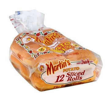 Martins Potato Rolls, Sliced - 12 Each