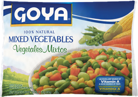 Goya Mixed Vegetables Frozen 16oz
