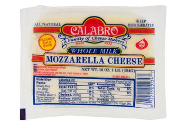 Calabro Mozzarella Cheese Whole Milk