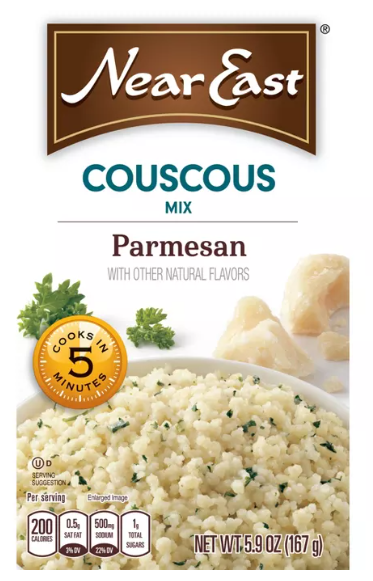 Near East Couscous Mix, Parmesan - 5.9 oz.
