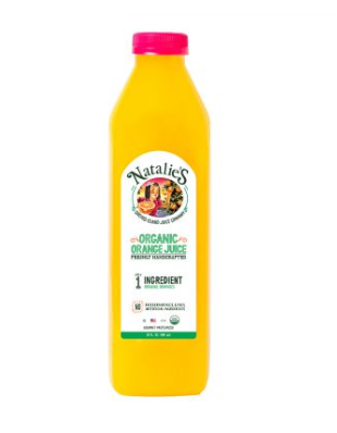 Natalie's Orchid Island Organic Orange Juice 32oz