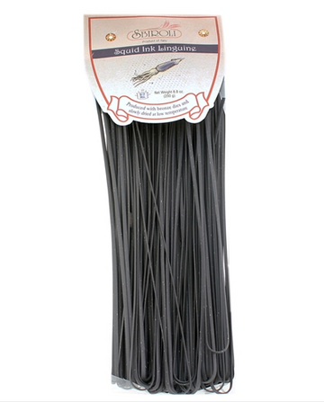 Sbiroli Squid Ink Linguine Pasta 8.8oz