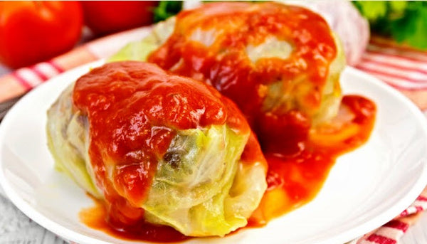 Sweet & Sour Stuffed Cabbage