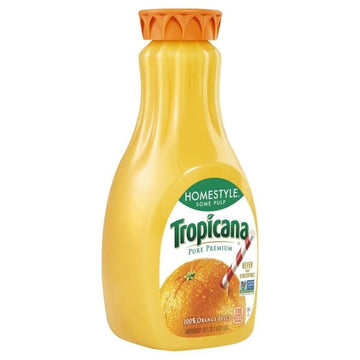Tropicana Pure Premium 100% Juice, Original, No Pulp, Orange - 59 Ounces