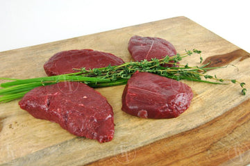 Fossil Farms New Zealand Venison Medallions 4 EA @ 4oz