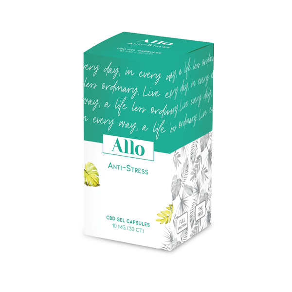 [ALLO] CAPSULES CBD ANTI-STRESS - 10mg