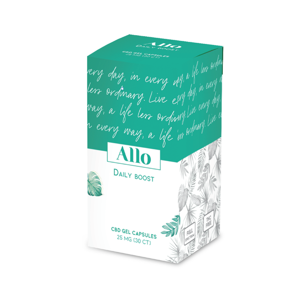 [ALLO] CAPSULES CBD DAILY BOOST - 25mg