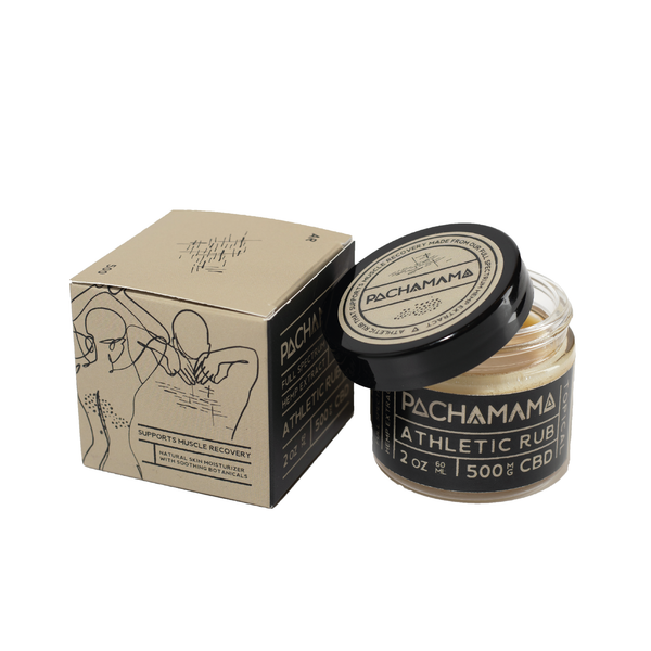 [PACHAMAMA] Crème Athletic Rub 500mg CBD