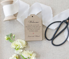 """Welcome"" Tags"