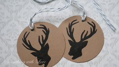 Holiday Deer Gift Tags