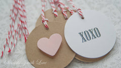 Valentines Day Gift Tags -Gift Wrapping