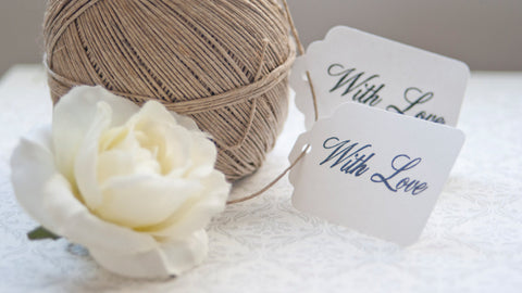 """With Love"" Gift Tags"