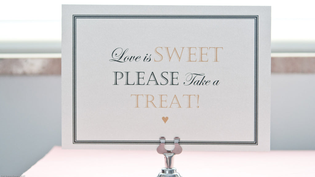 Candy Bar Sign