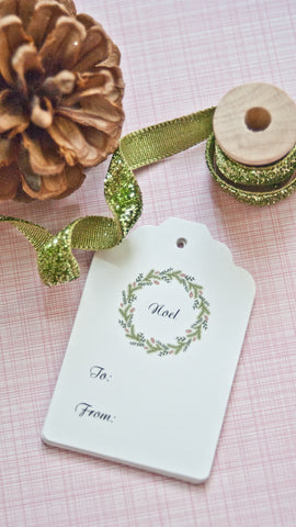 Holiday Gift Tags - Noel Tags