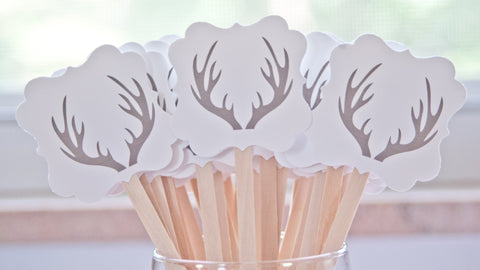 Antler Drink Stirrers