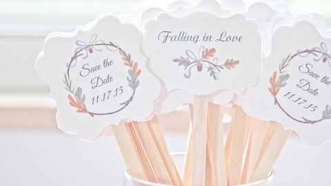Falling in Love Drink Stirrers