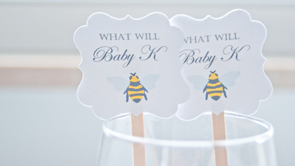 What Will Baby Bee Drink Stirrers