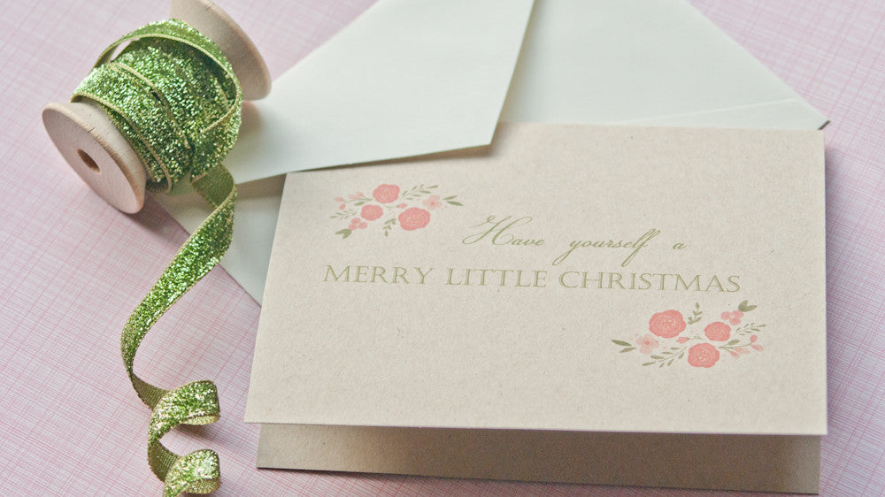 Holiday Card Set - Have Yourself a Merry Little Christmas