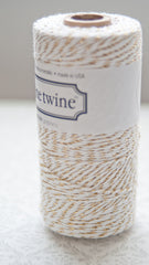 Baker's Twine - Gold