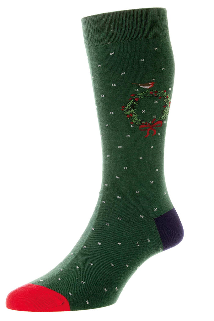 Westgrove Christmas Wreath Socks