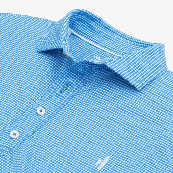 Herman Printed PREP-FORMANCE Pique Polo