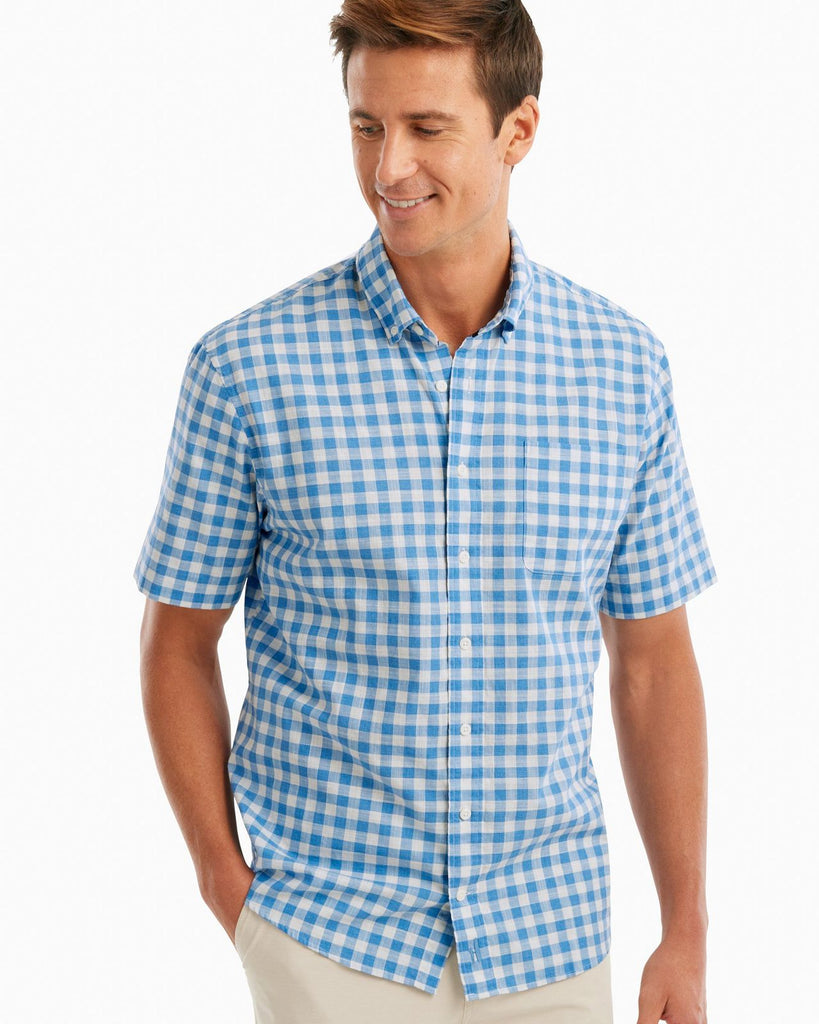 Watts Hangin' Out Short Sleeve Button Down Shirt