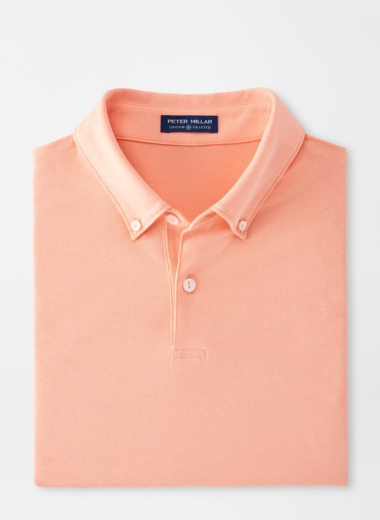 Ace Cotton-Blend Piqué Polo