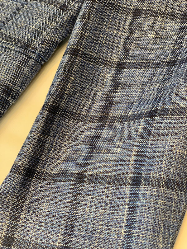 Blue Windowpane Sport Coat