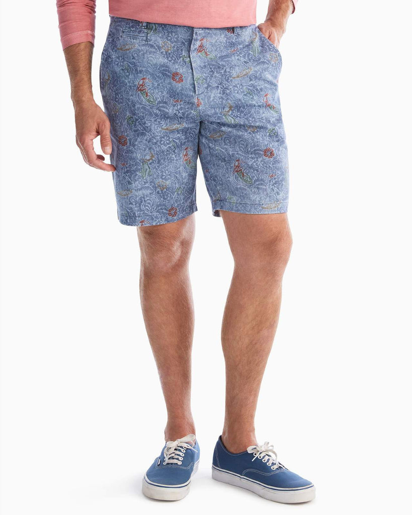 Amped Printed Shorts
