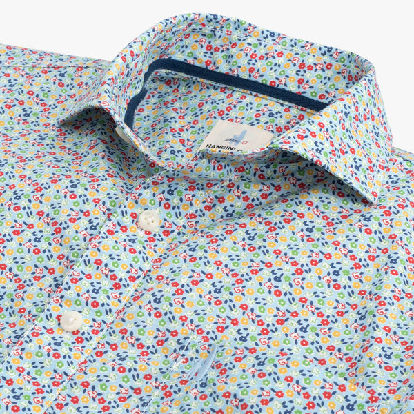 Vincent Hangin' Out Button Down Short Sleeve Shirt