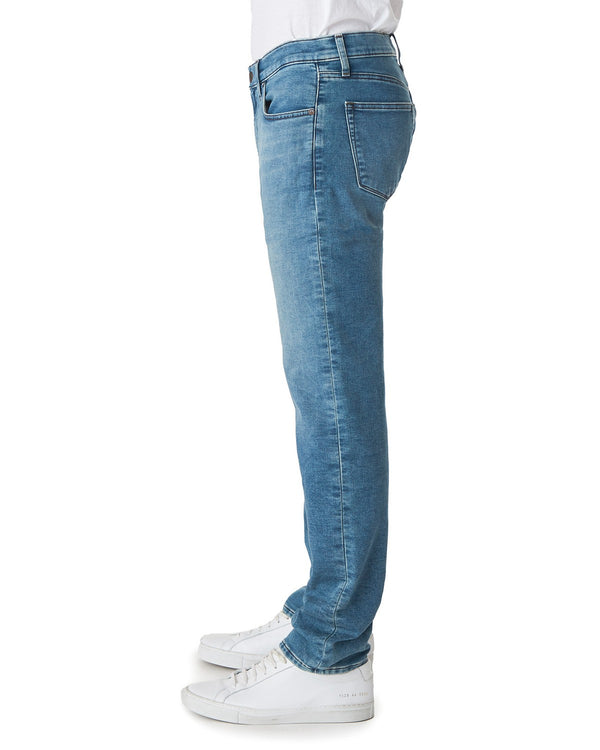 French Terry Denim in Raze