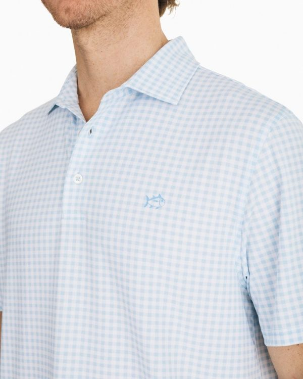 Gingham Performance Polo