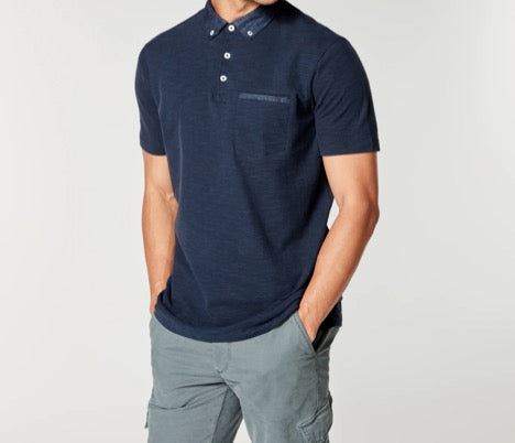 Soft Slub Jersey Polo