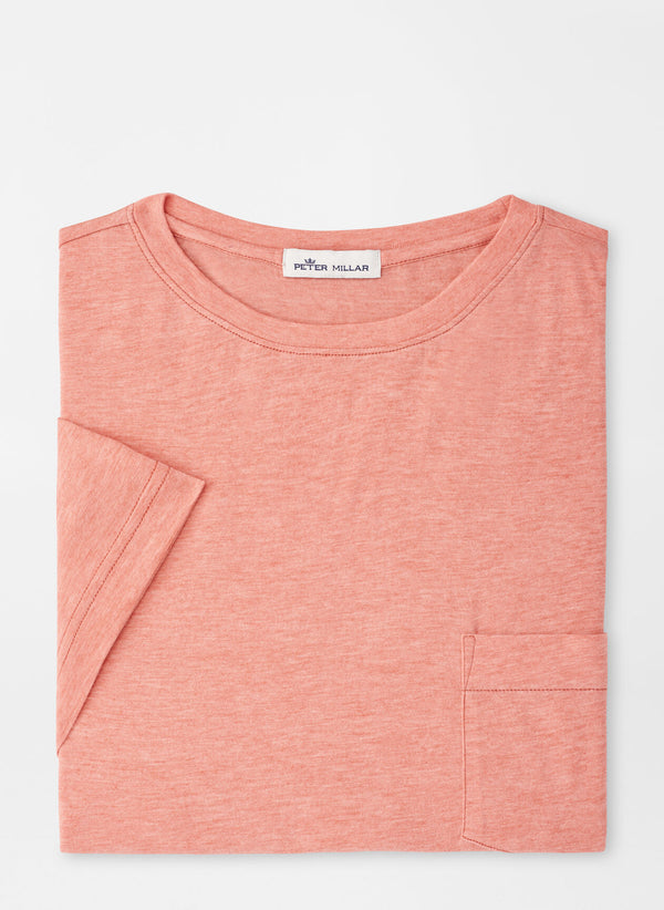 Seasonal Summer Soft Pocket Tee