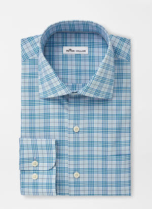 Quint Cotton-Blend Sport Shirt