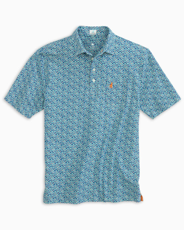 The Original 4-Button Polo - Cannon Print