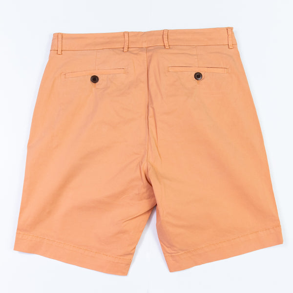 Solid Cotton Stretch Short