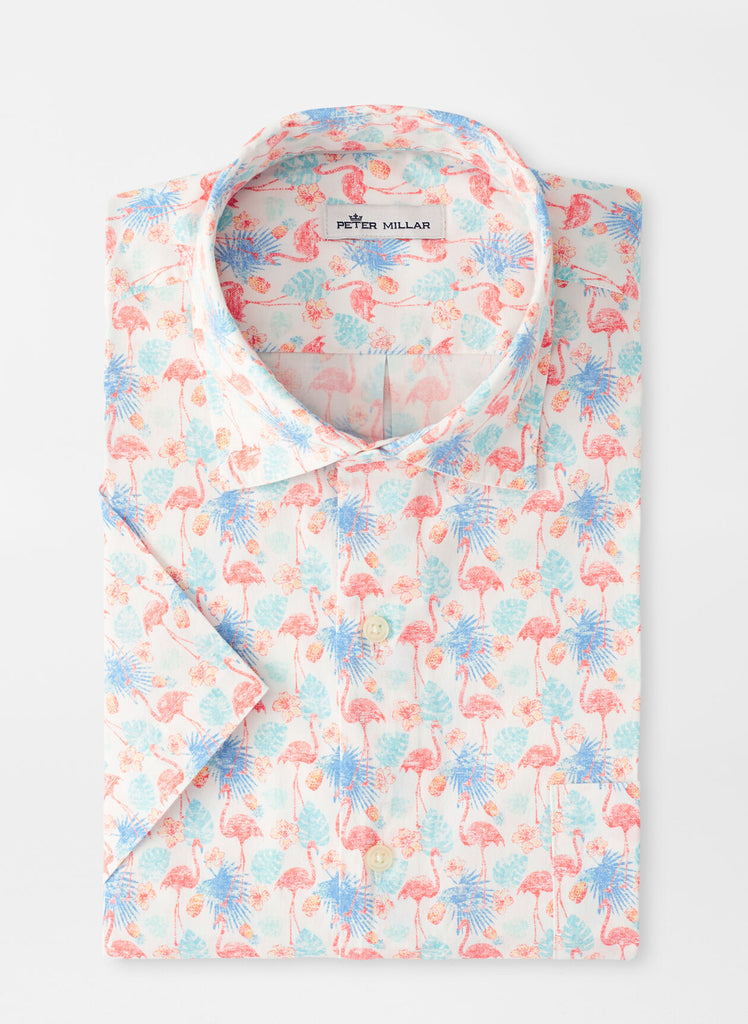 Paradise Cotton-Blend Sport Shirt