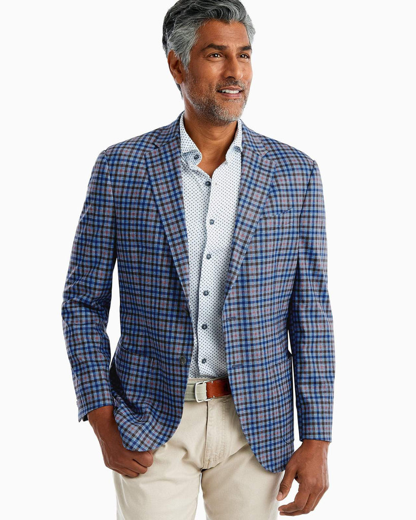 Cambria Printed Knit Sport Coat
