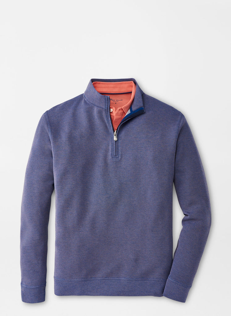 Crown Comfort Birdseye Quarter-Zip