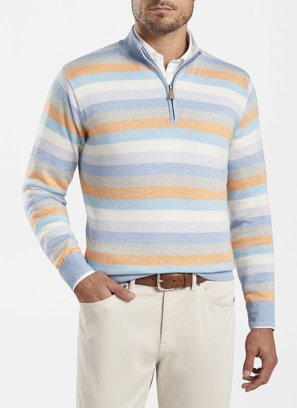 Crown Cool Coach Quarter-Zip Sweater