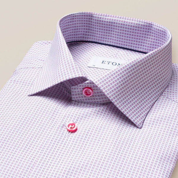 Pink Box Dress Shirt