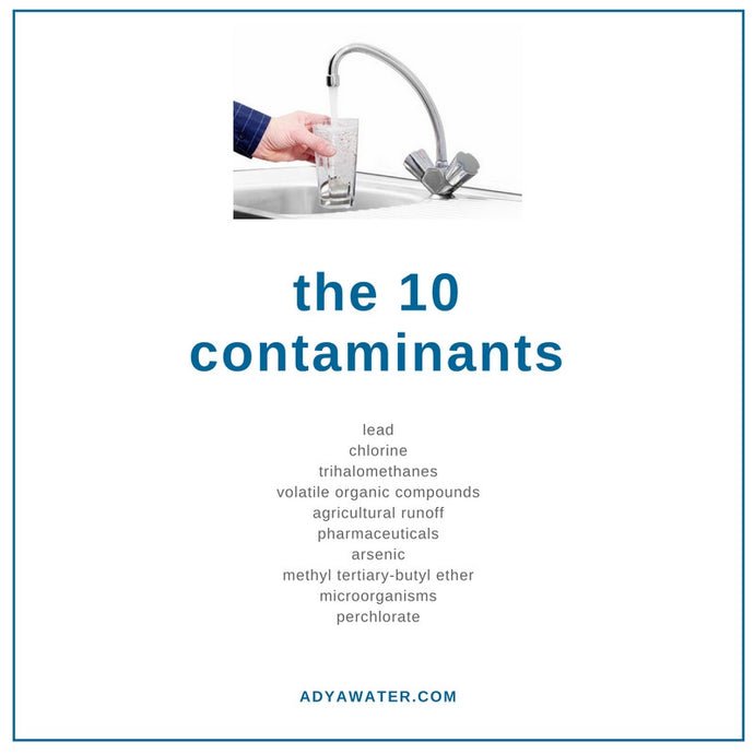The 10 Contaminants