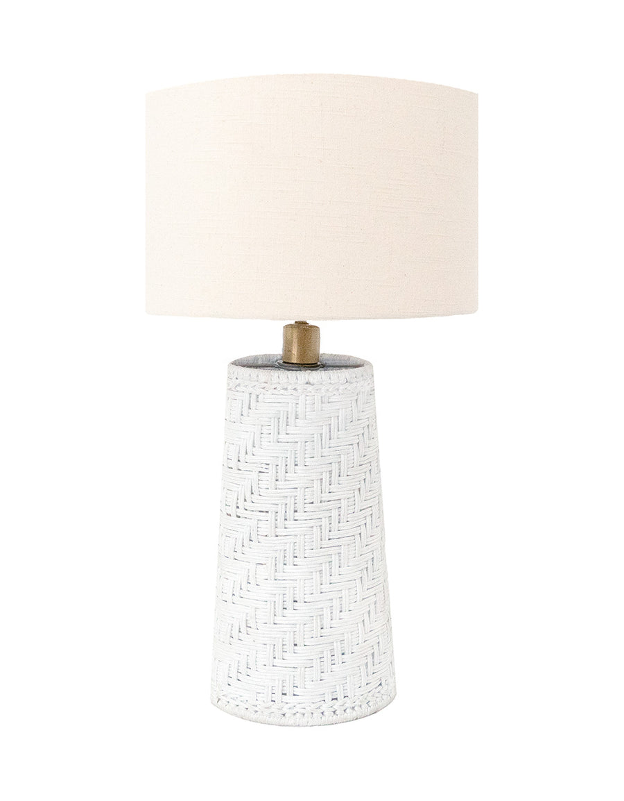 Coastal Handwoven Rope Table Lamp