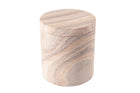 Rainbow Sandstone Jar with Cover