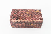 Mauve Mosaic Glass Decor Box - Anaya Home