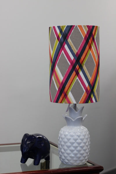 Painted Stripes Lampshade